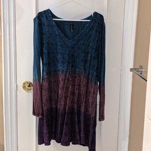 Sacred Threads Long Sleeved Boho Style Dress